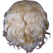 Wonderful Antique Mohair Doll Wig