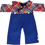 Authentic Georgene  BON Raggedy Andy Outfit