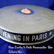 RARE EVENING IN PARIS Sailor's Hat Perfume Presentation