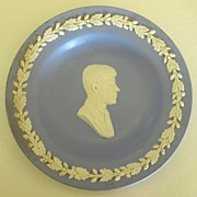 Rare Vintage Wedgwood John F. Kennedy Jasperware Plate