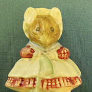"Darling Vintage English Porcelain Figurine ""The Old Woman Who Lived in a Shoe"" Beatr"