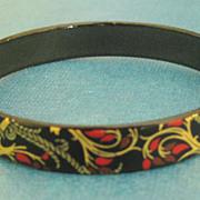 Lovely Signed Steinbock of Austria Enamel Bracelet