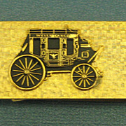 Good Looking Vintage 1970's Wells Fargo Money Clip