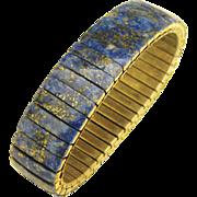 Vintage Blue Sodalite Expansion Bracelet