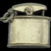Unique Vintage Sterling Mechanical Lighter Charm