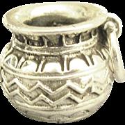 Lovely Detailed Sterling Southwest Pendant or Charm