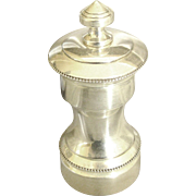 Elegant Vintage Sterling Silver Pepper Mill