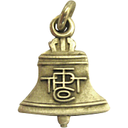 Vintage Sterling Pacific Bell Telephone Charm