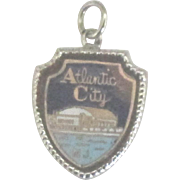 Vintage Enamel Sterling Atlantic City NJ Charm