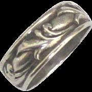 Vintage Signed G. Cini Sterling Ring