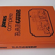 SOLD Jones' Complete Barguide, 1977, by Stanley M. Jones - Scarce Collectible Bar Guide