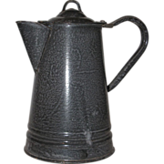 Graniteware : Enamelware Coffee Pot