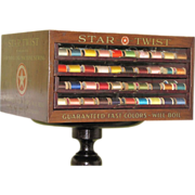Star Sewing Thread Spool Cabinet