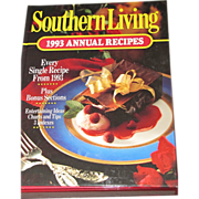 Southern Living Cookbook 1993 Annual Recipes