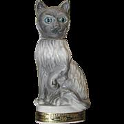 SOLD Jim Beam Cat Decanter
