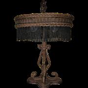Wicker Table Lamp