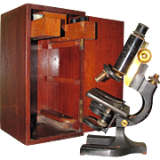 Spencer Microscope with Case