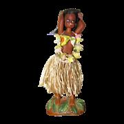 Vintage Hawaiian Hula Girl Nodder Bobber