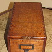 One Drawer Oak File