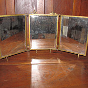 Victorian Triple Mirror