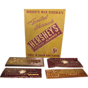 100th Anniversary Hershey Candy Bar Paperweights