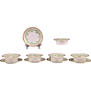 19th C. Set of 5 Limoges Ramekins