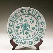 Grazia Deruta Tin Glazed Majolica Plate