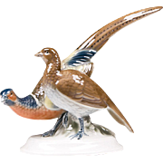 Gerold Porzellan Figurine of Pheasants