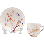 Royal Vienna Style Hand Painted Cup & Saucer