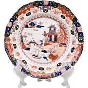 Masons Patent Ironstone Imari Pattern Plate, 1825