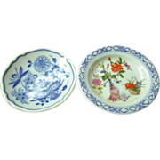 Limoges and Royal Worcester butter pats