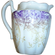 Shelley Wileman Cream/Milk pitcher, Lav. & Cream