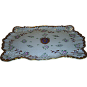 Exquisite Hand Painted dresser tray
