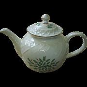 Lenox USA Christmas Teapot