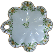 Hand Painted Nippon candy dish, Primroses!