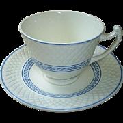 Vintage Spode cup & saucer, 'Elaine'