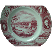 Johnson Bros Oregon Plate, Lewis & Clark