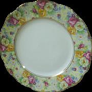 Royal Albert 'Rosetime' chintz dessert/luncheon plate
