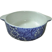 Johnson Bros. Foley England Blue Calico dish