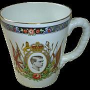 Edward VIII Coronation Mug, 1937