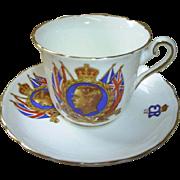 Edward VIII Cup & Saucer, 1937