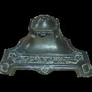 Vintage Brass Ink Well