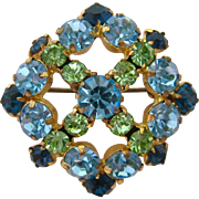 Made in Austria Rhinestone Brooch Gorgeous