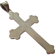 Sterling Silver 925 Cross Pendant
