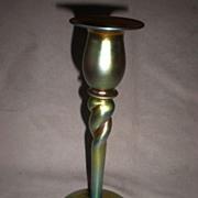 Gorgeous Steuben Aurene Candle Holder