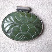 Fabulous Carved Jade Pendant