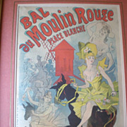 """""""Moulin Rouge"""" Poster by """"Jules Cheret (1836-1932)"""""""