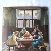 Charming  Wilhelm Giessl (1869-1938) Original Oil Painting
