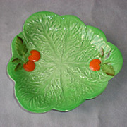 "Beautiful Carlton Ware ""Tomato"" Pattern Serving Dish"