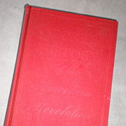 "SOLD ""Secret History of the American Revolution"" - Carl Van Doren"